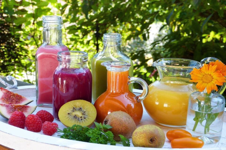 Vegetable drinks and their benefits