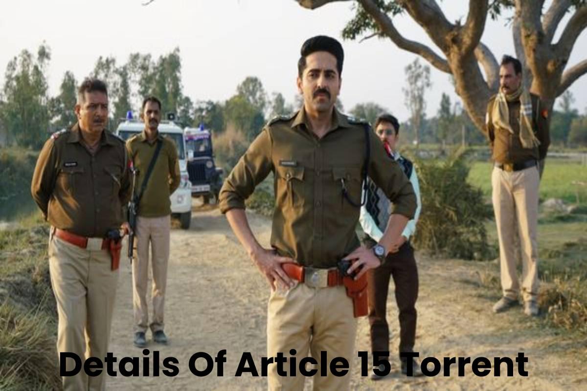 Details Of Article 15 Torrent
