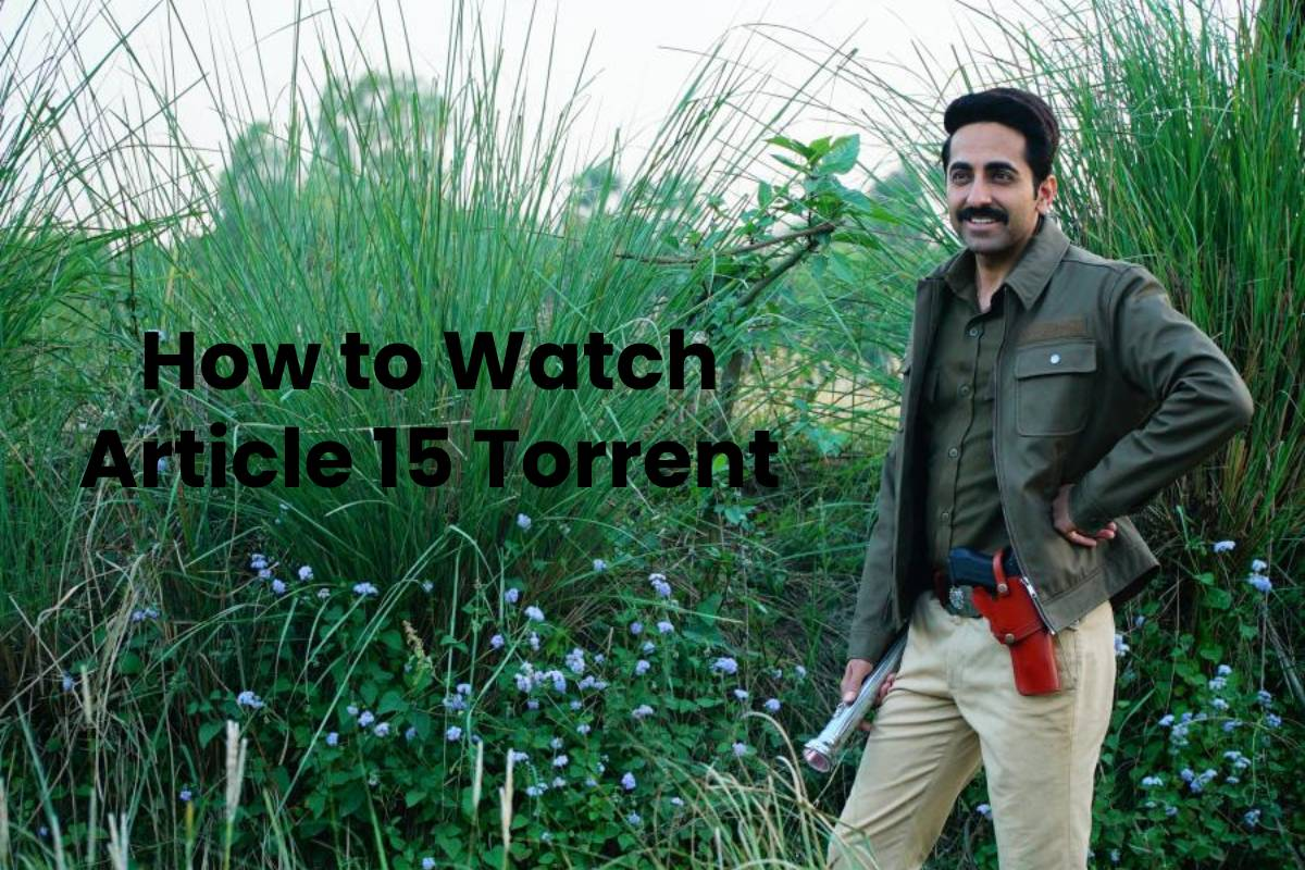 How to Watch Article 15 Torrent