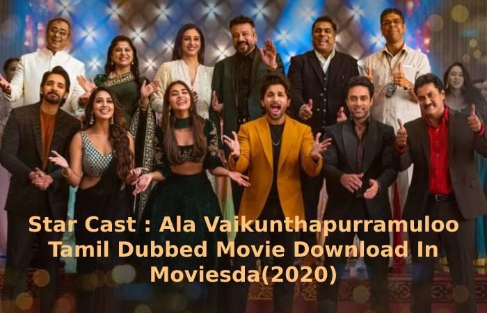 Ala Vaikunthapurramuloo Tamil Dubbed Movie Download In Moviesda(2020)